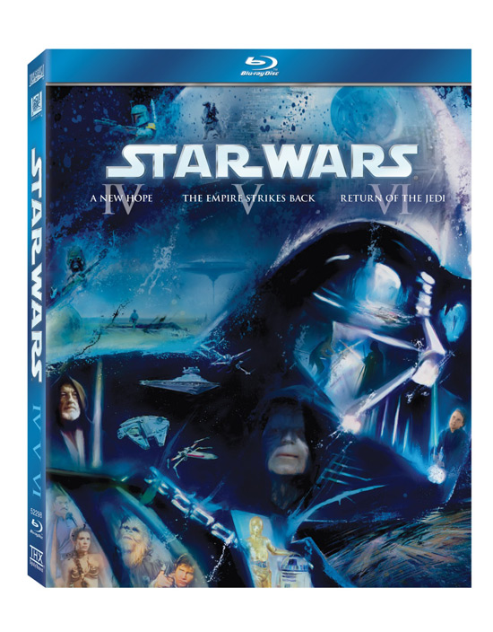'Star Wars' Blu-ray box artwork