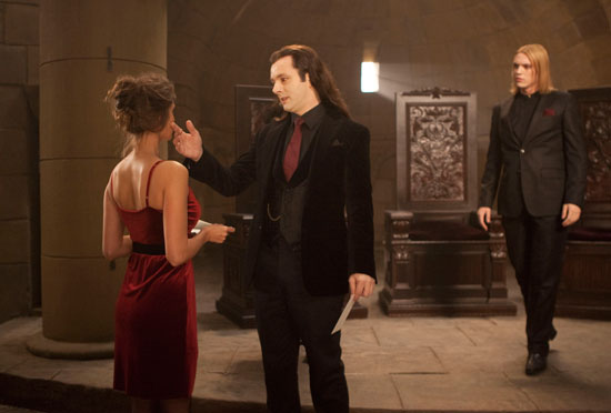 Michael Sheen's Aro returns
