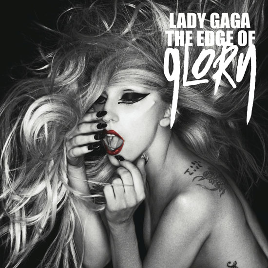 Lady GaGa, The Edge of Glory artwork