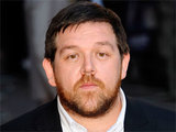 Nick Frost attending the UK film premiere of 'Attack The Block' held in London's West End