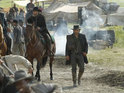 "An AMC executive describes Hell on Wheels as ""a modern thriller set in the west""."