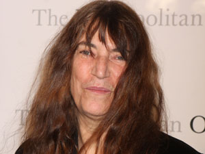 Singer Patti Smith