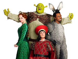 'Shrek' the musical: The Cast