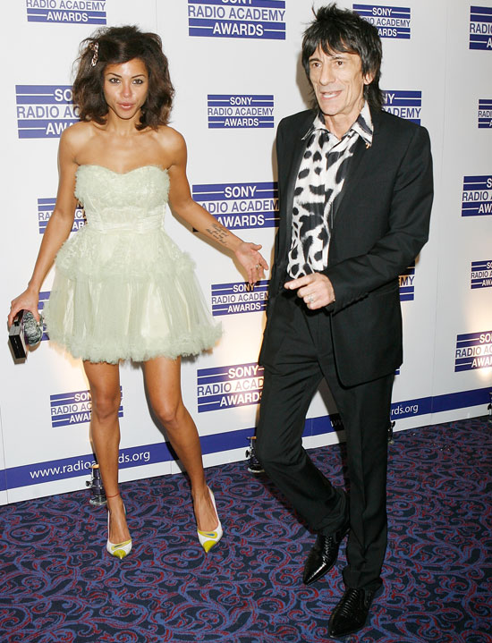 Ronnie Wood & Ana Araujo