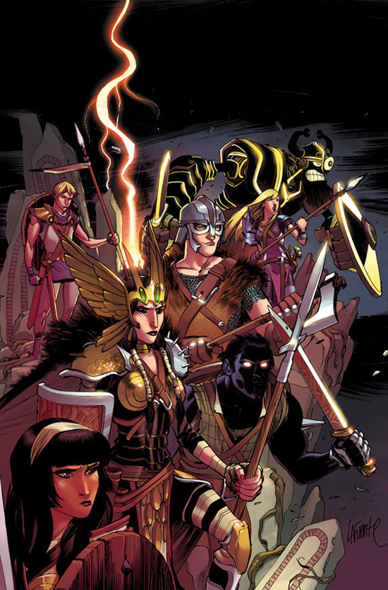 'New Mutants' artwork from Marvel