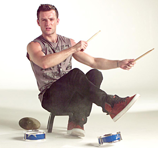 Harry Judd of McFly