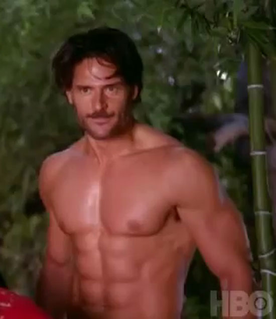 Joe Manganiello in the True Blood season 4 trailer