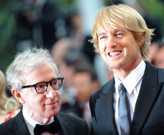 Woody Allen and Owen Wilson