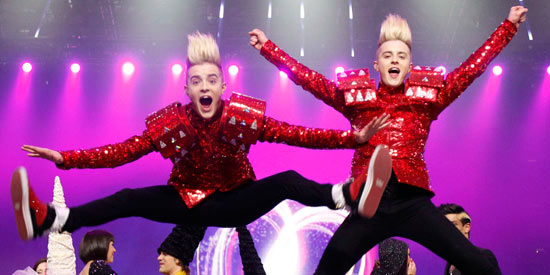 Jedward perform qualify for Eurovision 2011