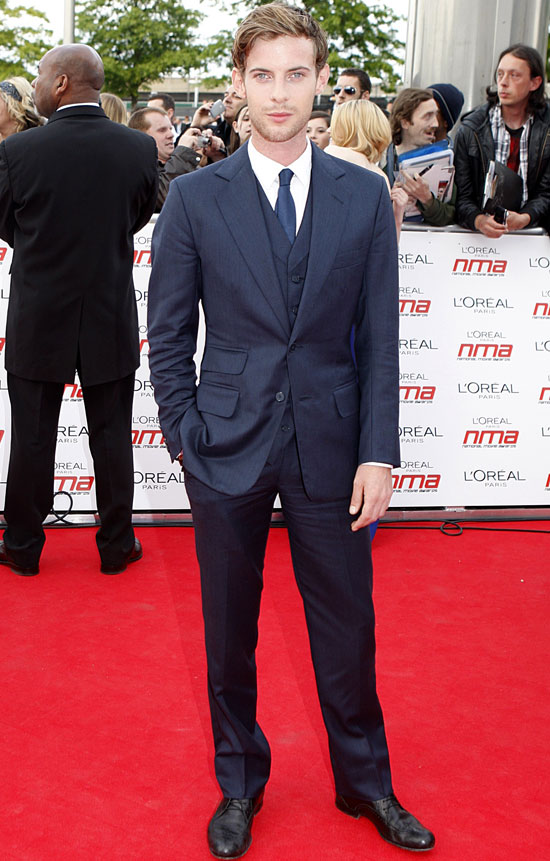 Luke Treadaway National Movie Awards