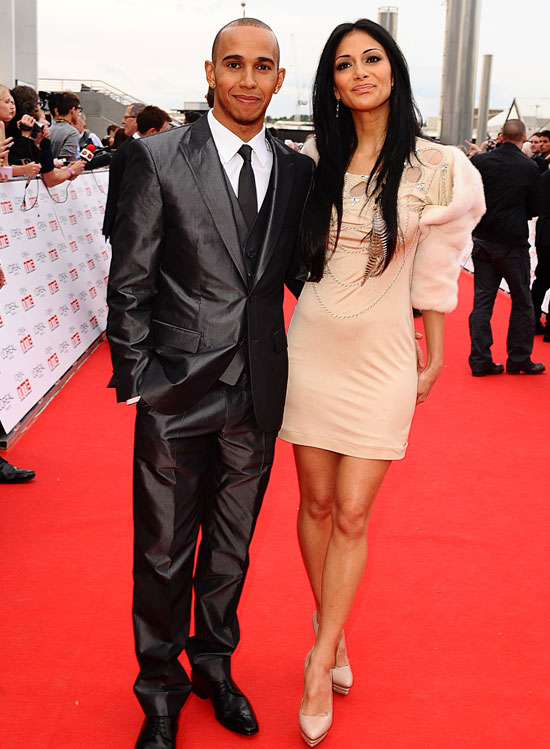 Lewis Hamilton Nicole Scherzinger National Movie Awards