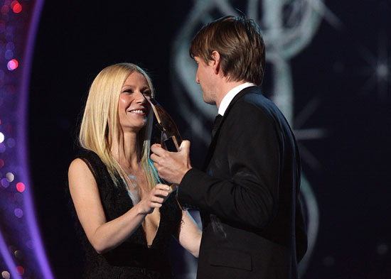 Gwyneth Paltrow Tom Hooper NMAs