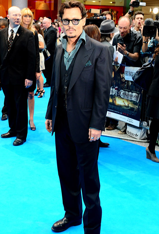 'Pirates of the Caribbean: On Stranger Tides' London premiere