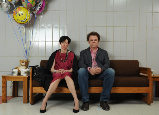 Tilda Swinton and John C. Reilly