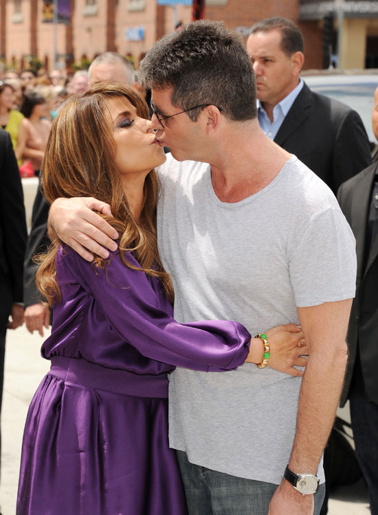 The X-Factor USA Los Angeles Auditions: Paula Abdul and Simon Cowel