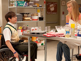 Glee S02E20: Artie sings to Brittany