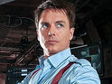 The star currently recurs on The CW's superhero drama as Malcolm Merlyn.