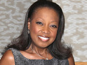 Star Jones is served with legal papers for violating her divorce agreement while at a book signing.