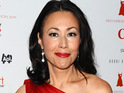 A homeless man is removed from Ann Curry's multi-million dollar townhouse in New York.