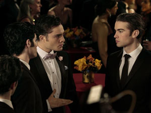 Gossip Girl S04E22 'The Wrong Goodbye': Dan, Chuck and Nate