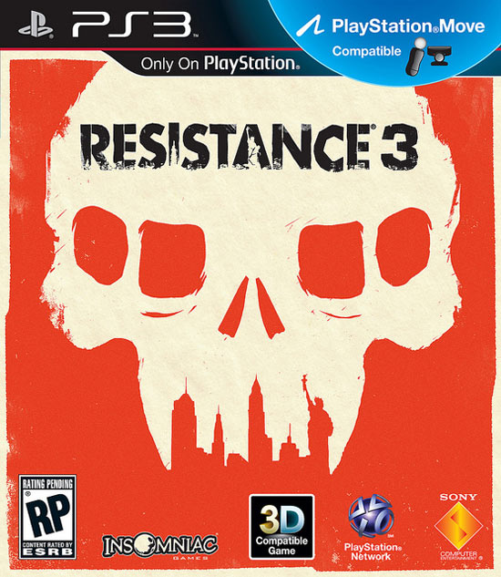 Resistance 3 cover art