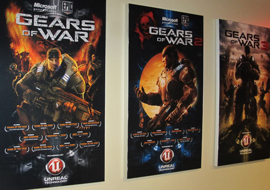 Gaming Feature: Gears of War 3 studio tour