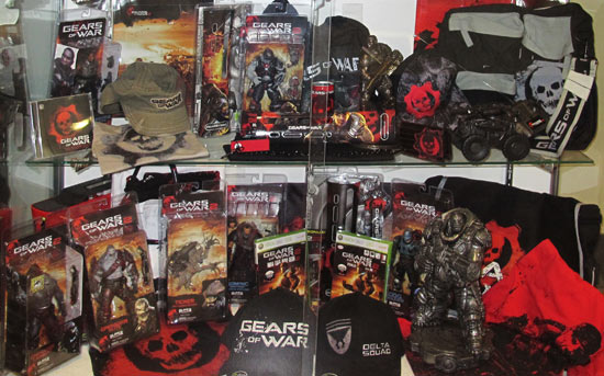 Gears of War Epic Games studio tour