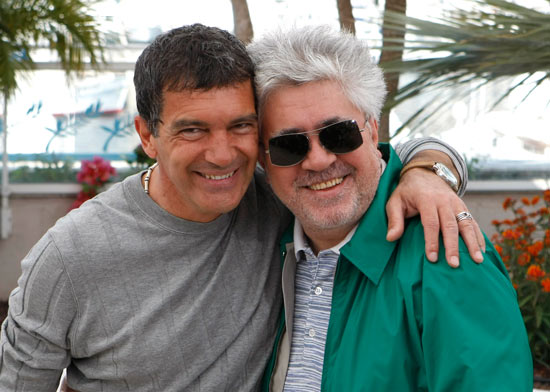 Banderas and Almodóvar