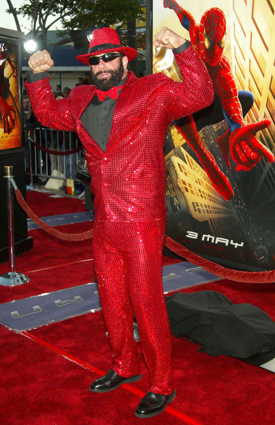 The 'Spiderman' premiere