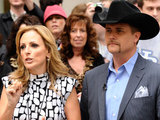 Celebrity Apprentice finalists Marlee Matlin and John Rich
