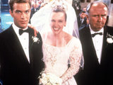 Daniel Lapaine, Toni Collette, Bill Hunter in 'Muriel's Wedding'