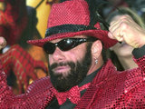 Former WWF wrestler Macho Man Randy Savage