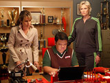 Glee S02E21: Sue recruits Terrri and Howard to stop the glee club from going to the Nationals
