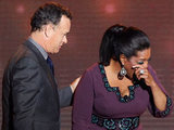 Tom Hanks and Oprah Winfrey on 'Surprise Oprah! A Farewell Spectacular'