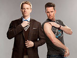 Andrew (David Hornsby) and Bert (Kevin Dillon) from 'How To Be A Gentleman'