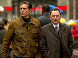 Reese (Jim Cavizel) and Finch (Michael Emerson) from 'Person Of Interest'