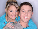Lauren Alaina and Scotty McCreery take to the stage on the first night of the American Idol finale.