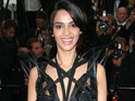 Mallika Sherawat appears on the red carpet at Cannes wearing a see-through outfit and visible underwear.