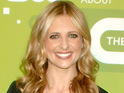 "Sarah Michelle Gellar says that she is having ""the best time"" shooting her new series Ringer."