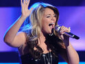 American Idol's Lauren Alaina says that it was amazing to sing with Carrie Underwood.