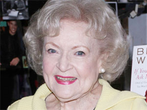 Betty White signs copies of her new book at Book Soup in West Hollywood