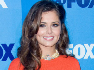 Cheryl Cole at the FOX upfront presentation in New York