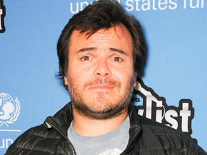 Jack Black at the UNICEF Playlist with the A'List in Los Angeles