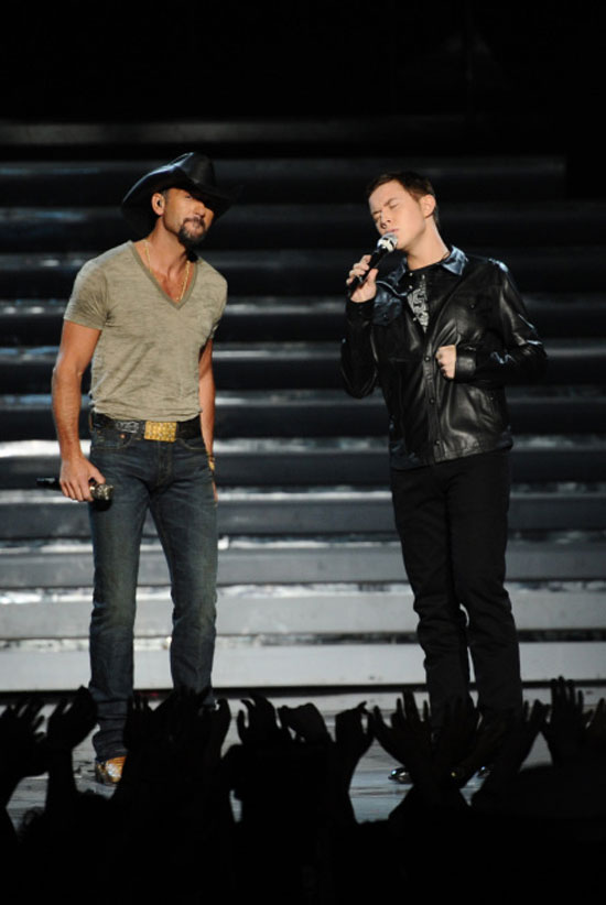 Scotty McCreery and Tim McGraw