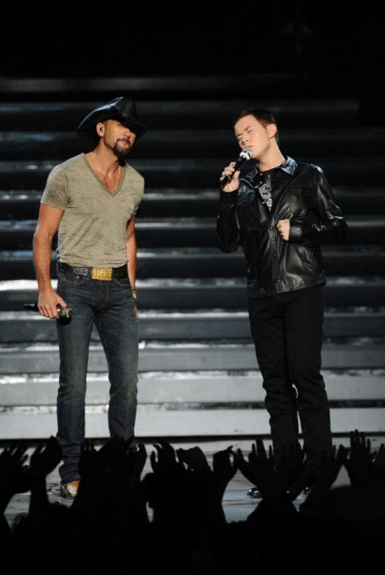 Scotty McCreery and Tim McGraw