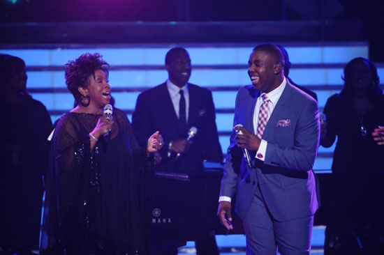 Jacob Lusk and Gladys Knight