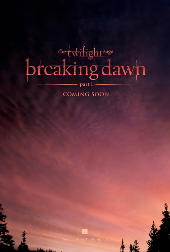 'The Twilight Saga: Breaking Dawn' poster