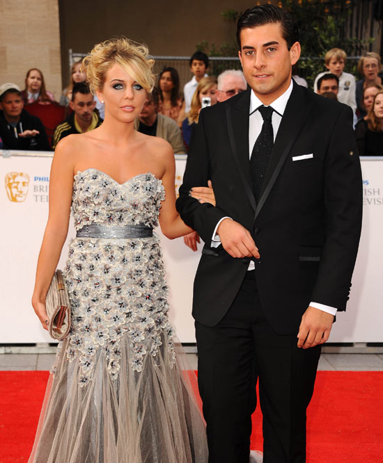 Lydia and Arg from The Only Way Is Essex at the BAFTAs