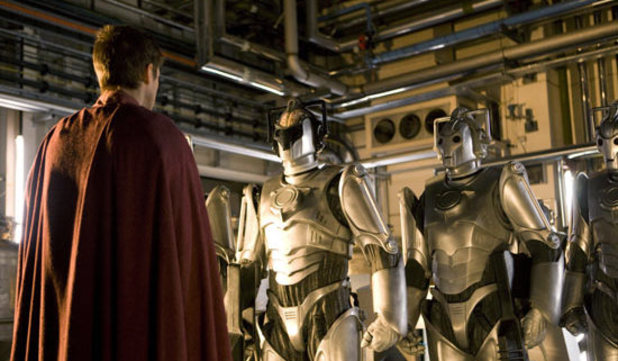Rory meets the Cybermen in Doctor Who S06E07
