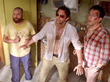 Zack Galifianakis, Bradley Cooper and Ed Helms in 'The Hangover: Part II'